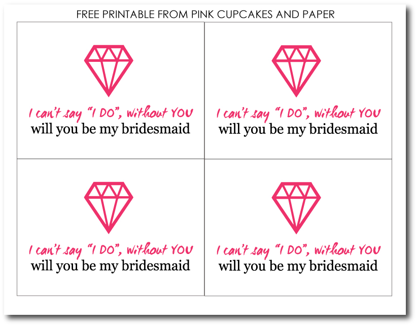 graphic about I Can't Say I Do Without You Free Printable known as Unled